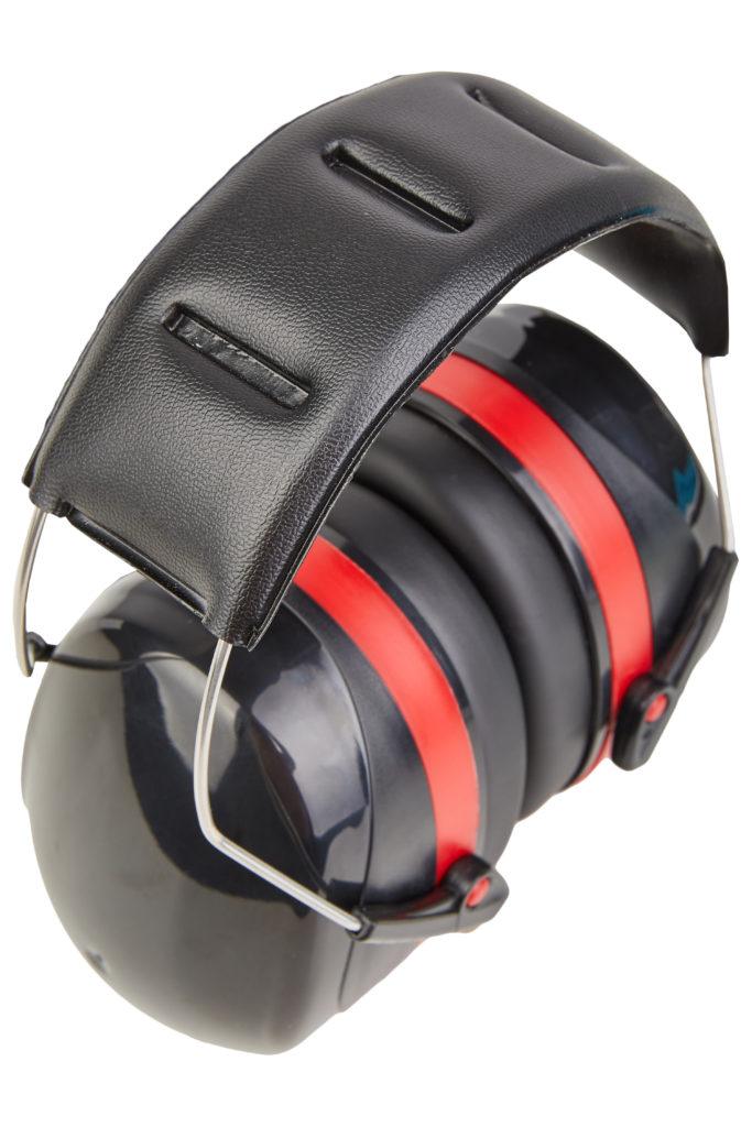 Gehörschutz für Motorsäge