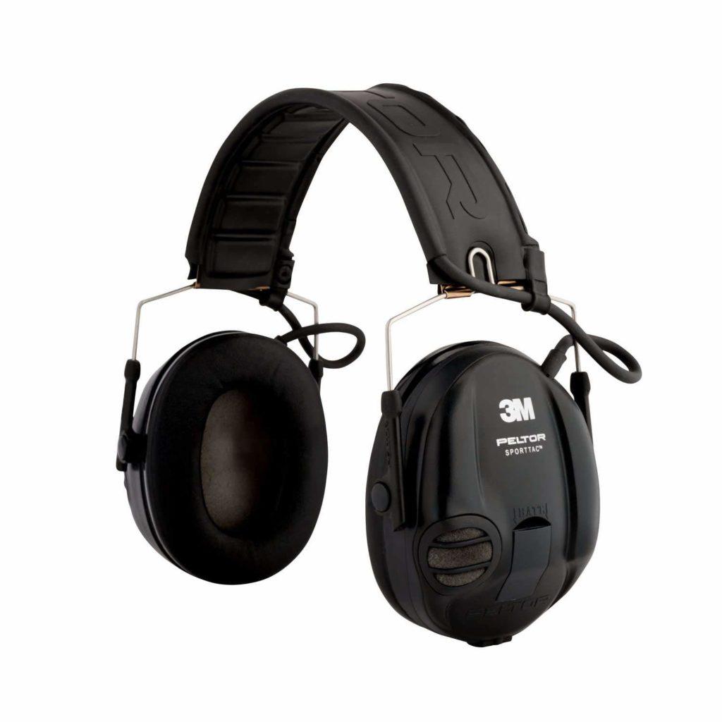 Kapselgehörschutz mit Audioeingang